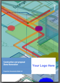 Sample of a YourQS Client Report for residential quantity surveying